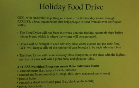Advisory Food Drive: Competition for a Cause