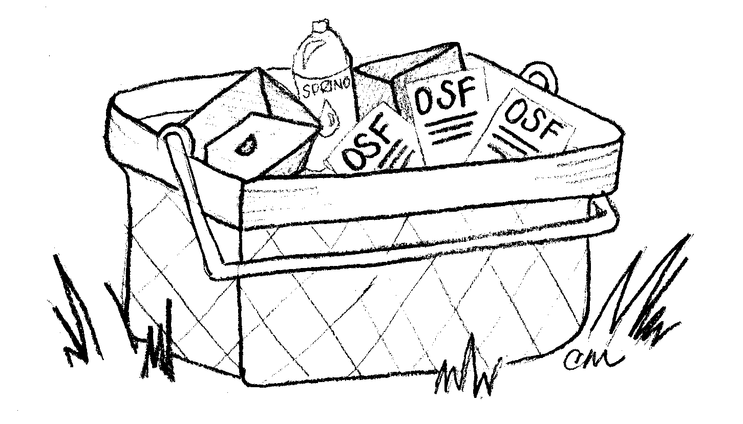 printable picnic basket coloring pages - photo#26