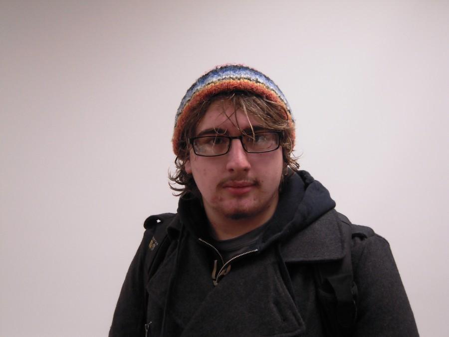 Jackson Davis at the First Friday Art Walk