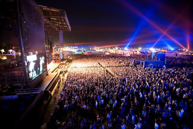 The Coachella main stage