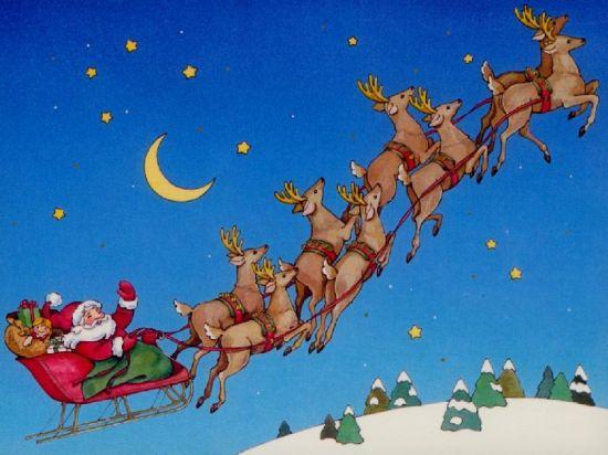 how to catch santa - Reindeer With Santa