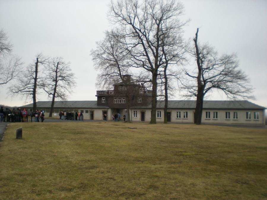 The entrance to Bunchenwald