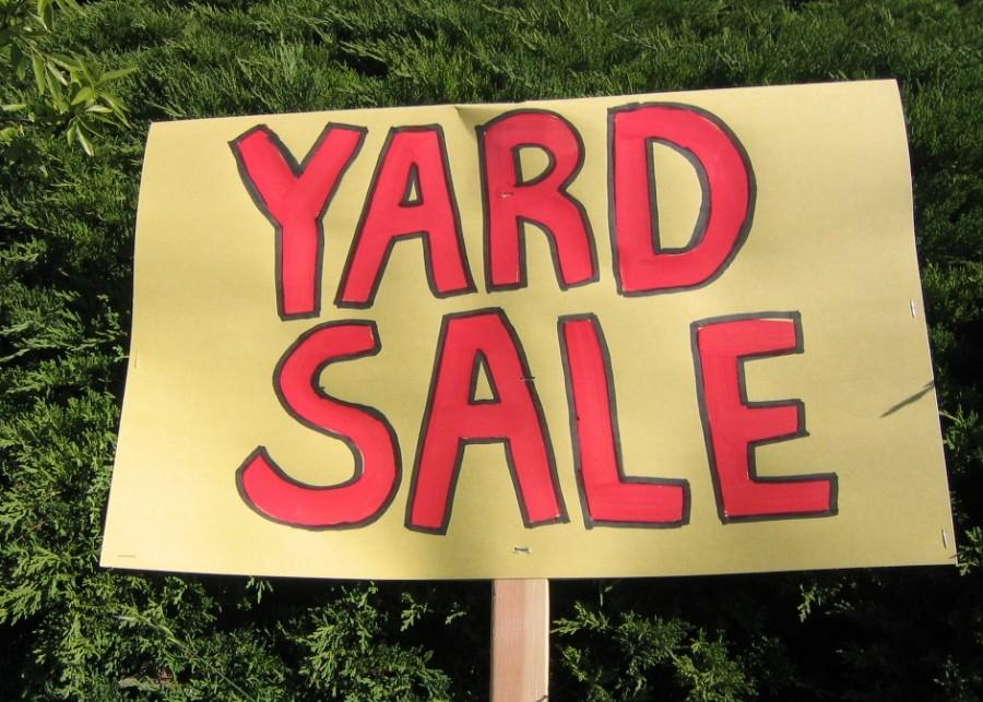 A COLOSSAL COMMUNITY YARDSALE OF EPIC PROPORTIONS!