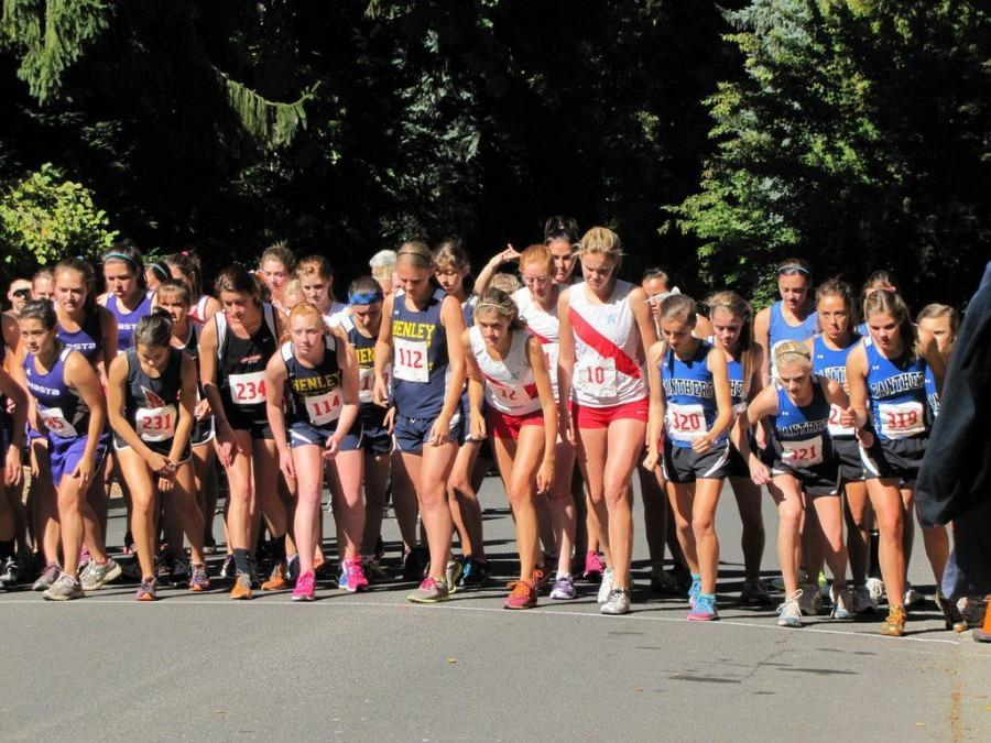 AHS Girls Cross Country: Impossible to win