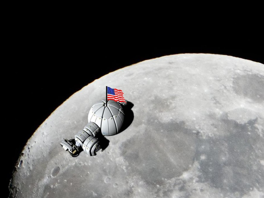 Colonizing the Moon: Our Place in Space