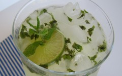 Summer Drinks: Lime-Mint Spritzer