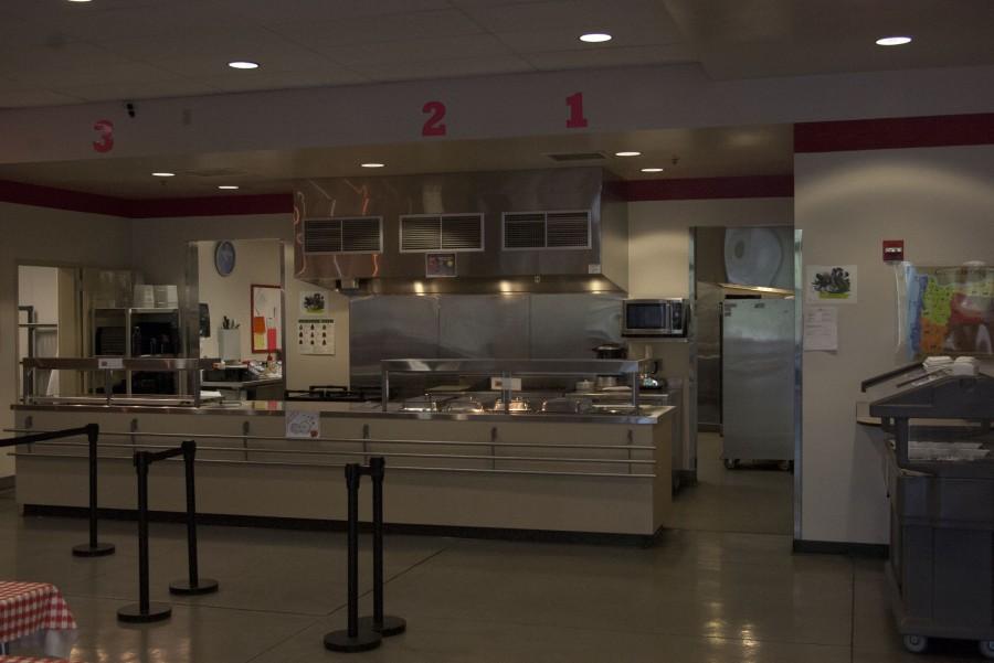 Ashland High School's very own cafeteria (Rogue News/Karl Moeglein)