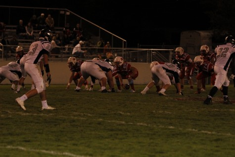 Football Picks Up Win In Crazy Homecoming Game