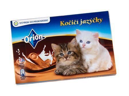 """Orion Kočiči Jazyčky  """"Kitten Tongues"""" from the Czech Republic."""