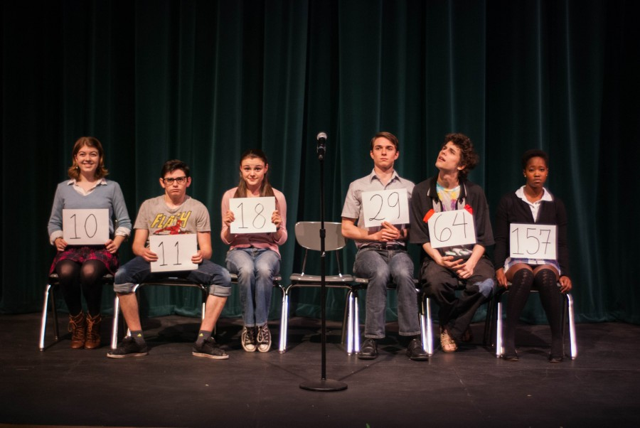 Tessa Buckley, Preston Mead, Julia Laurenson, Jon Connely, Michael Burt and Grace Pruitt. Photo courtesy of Betsy Bishop