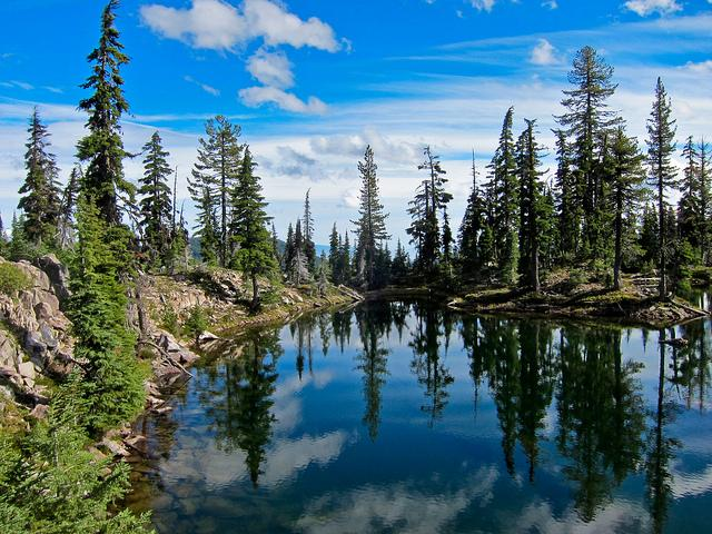 Unnamed Lake, Snow Lakes Trail