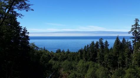 Seaside from Tillamook Head Trail