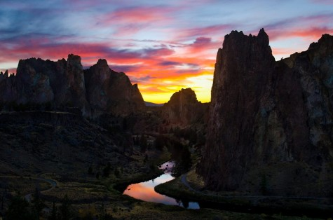 Smith Rock in Central Oregon