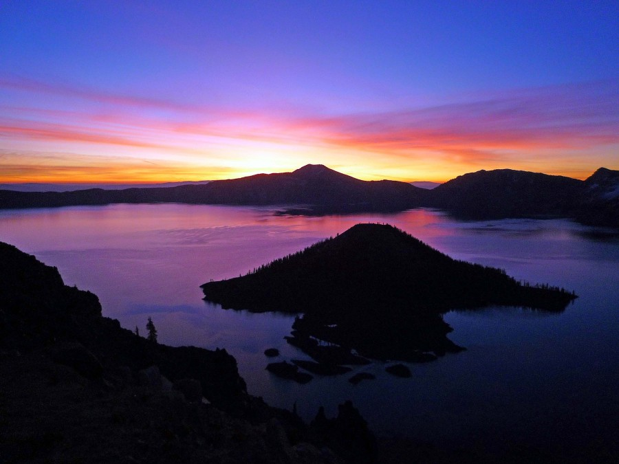 Sunrise at Crater Lake - Courtesy of the National Parks Service