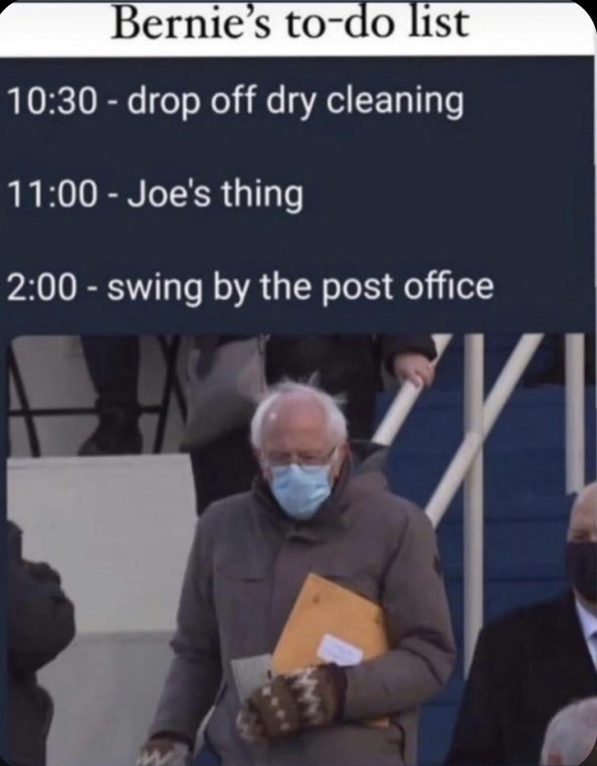 The Bernie meme is one example that unified the internet after Biden